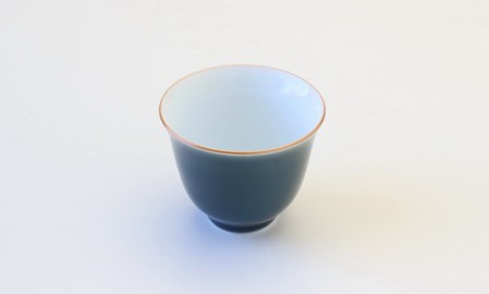 飲杯 ブルーグレー 35cc