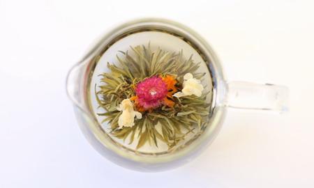 工芸茶 心心相和 しんしんそうわ Flower Crafted Tea Xinxin Xianghe