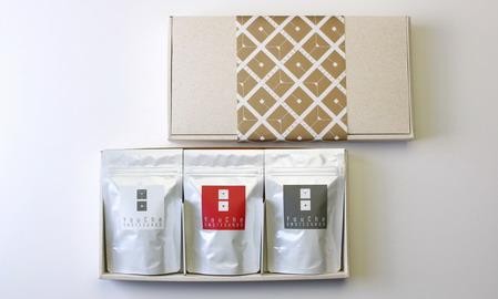 【ティーバッグ3種セット】≪身体にやさしいセレクト≫白牡丹+雲南紅茶+プーアール茶