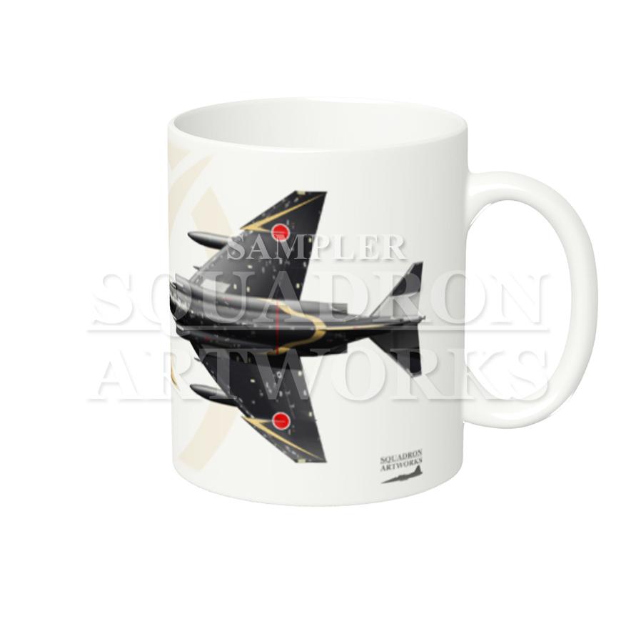 """マグカップ F-4EJ ファントム� """"47-8336""""  ADTW """"60th Anniversary"""" Tail-Top"""
