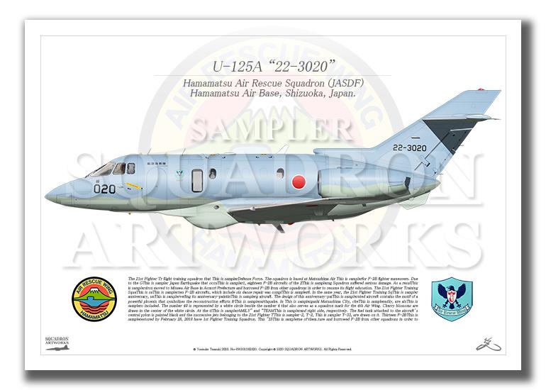 "U-125A 浜松救難隊 ""22-3020"" (A2サイズ Prints)"