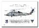"MH-60R シーホーク HSM-77 セイバーホークス Showbird ""167017""  (A4サイズ Profiles)"