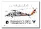 """MH-60S ナイトホーク HSC-12 ゴールデンファルコンズ Showbird """"167832""""  (A4サイズ Profiles)"""