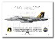 "F/A-18E スーパーホーネット VFA-115 ""イーグルス"" 2011 Showbird ""166859"" (A4)"