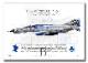 """F-4EJ """"改"""" ファントム� """"07-8436"""" Phantom Forever  (A3サイズ Prints)"""