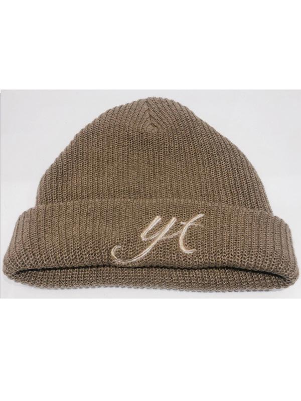【9月下旬から順次発送予定】YoutenaLogo Knit cap -Youtenaロゴニットキャップ-