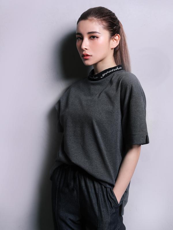 【即納】Youtena logo line tee