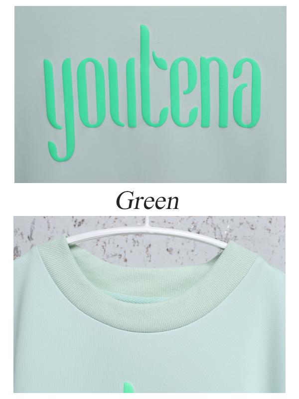 【10月上旬-中頃順次発送予定】youtena new logo sweatshirt