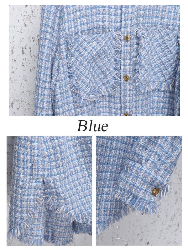【10月上旬-中頃順次発送予定】Tweed Shirt