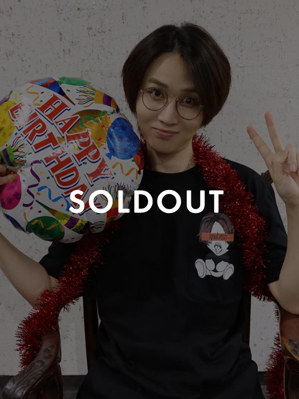 【9月中旬発送予定】KARUMA18禁Tシャツ -BIRTHDAY LIMITED BLACK-