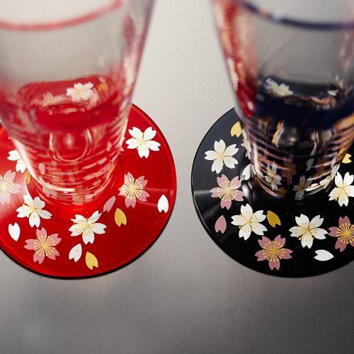 桜ビールグラス・ペアセット