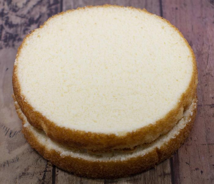 [冷凍]豆乳・米粉のスポンジケーキ