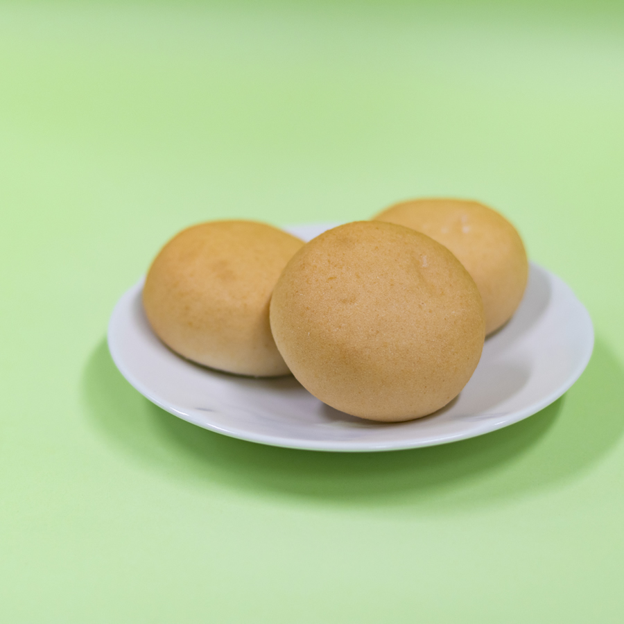 新商品!おいしい玄米丸パン(プレーン)3個入