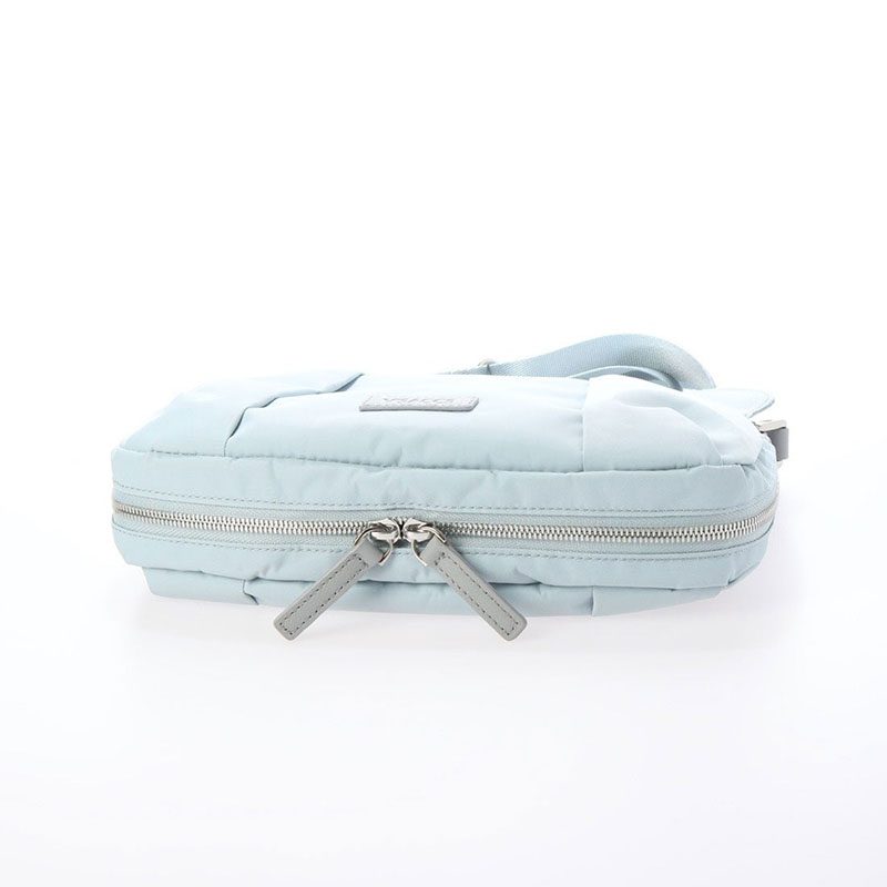 【OUTLET】リサイクルナイロン フロントタックショルダー