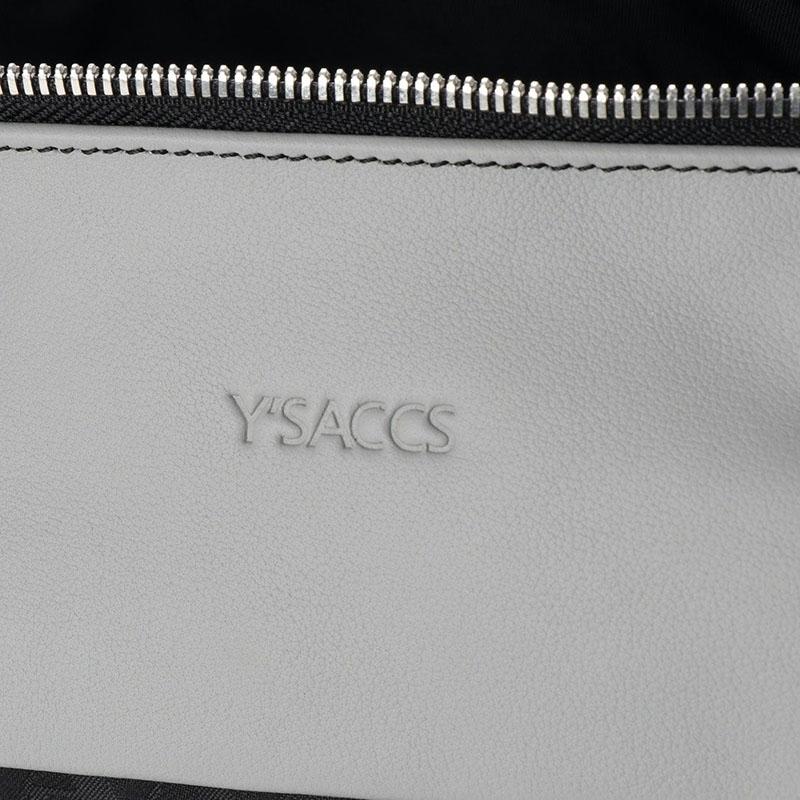 NEW  Y'SACCSモノグラム2wayトート Sサイズ (Y01-06-02-19)
