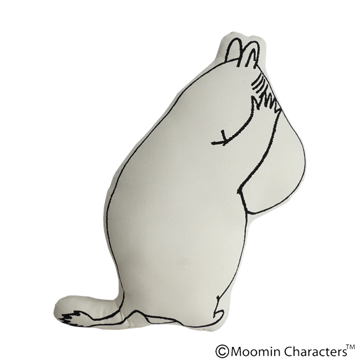【MOOMIN×a part of me.】「目隠しムーミン」クッション