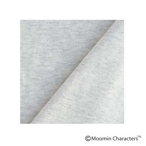 【MOOMIN×a part of me.】天竺フラワー+ムーミンロゴプリント 半袖シャツ