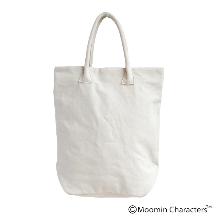 【MOOMIN×a part of me.】オックスフラワー+ムーミンロゴプリント トートバッグ