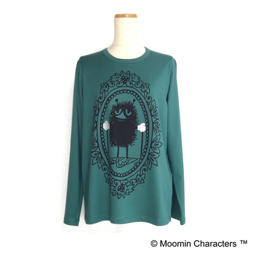 【MOOMIN×a part of me.】天竺スティンキースキープリント 長袖シャツ