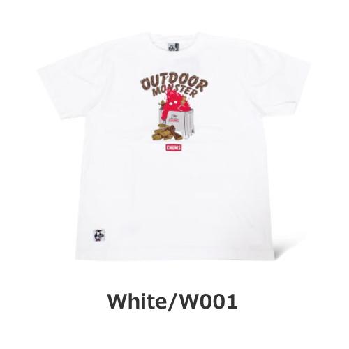 東北限定 別注 アウトドアモンスターファイヤーピットTシャツ