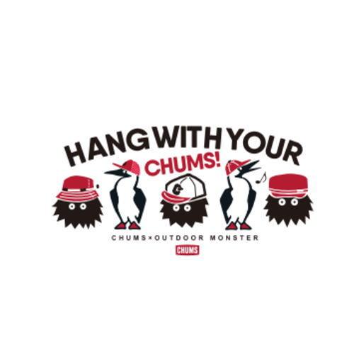 東北限定 別注 CHUMS Tシャツ アウトドアモンスター HWYC