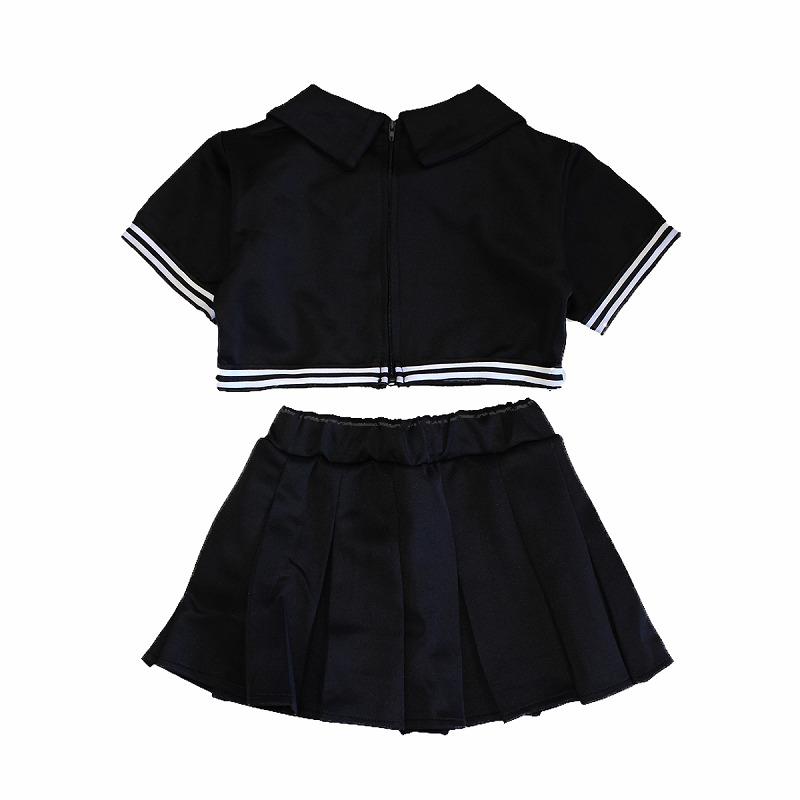 女の子のダンス衣装に☆4カラーチアガールセットアップ