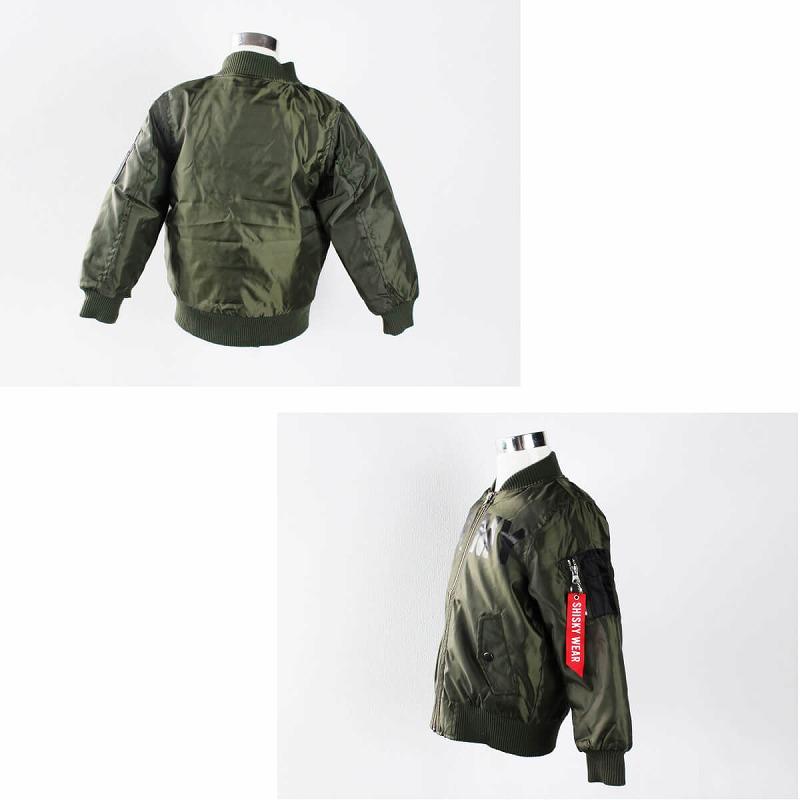 ARMY MA-1 シスキー 中綿 ジャンパー ヒップホップ キッズダンス衣装
