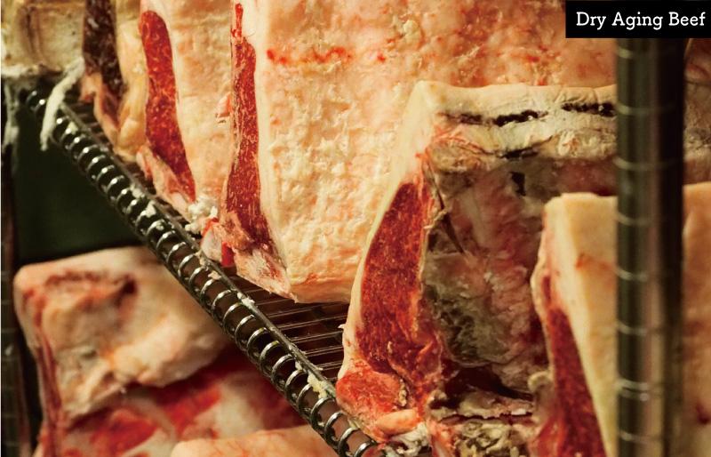 [限定価格] 乾燥熟成(ドライエイジング)はながジャージー牛ロースステーキ (約250g)