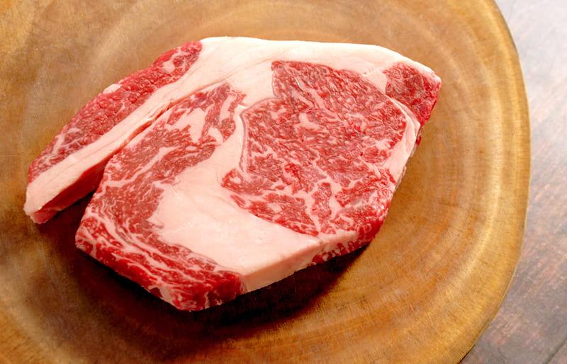 はなが牛リブロース 1ポンドステーキ(約450g・真空冷凍)