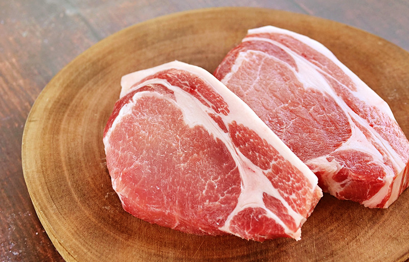 乾燥熟成豚 はなが豚ロース ステーキ (約250g)