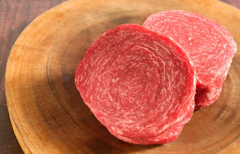 はなが牛ソフトステーキ(約120g×2個・真空冷凍)