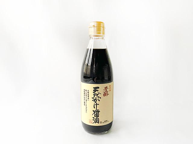 天然かけ醤油 360ml 【ネコポス配送不可】