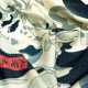 浮世絵 シルク スカーフ 90cm 歌川国芳 相馬の古内   歌川国芳 相馬の古内