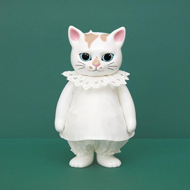 こはるの洋服 dress&drawers white