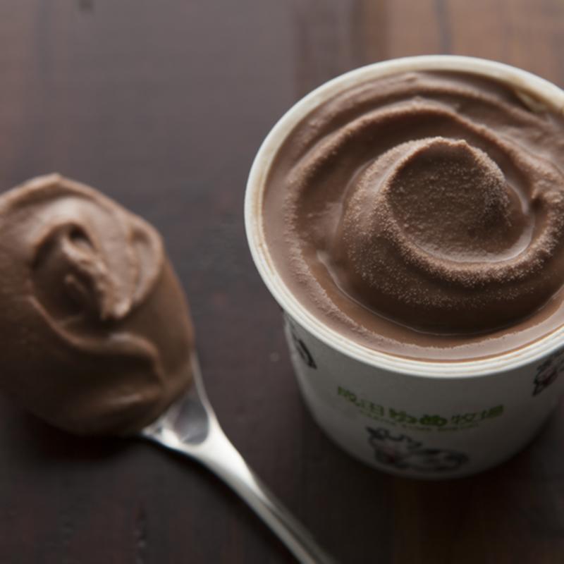 ブランデーチョコレートアイス