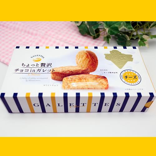 【送料込】チーズガレット3箱セット ちょっと贅沢チョコinガレット