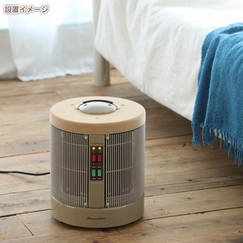暖話室 1000型【ベージュ・植毛(当サイト限定モデル)】タイマーセット