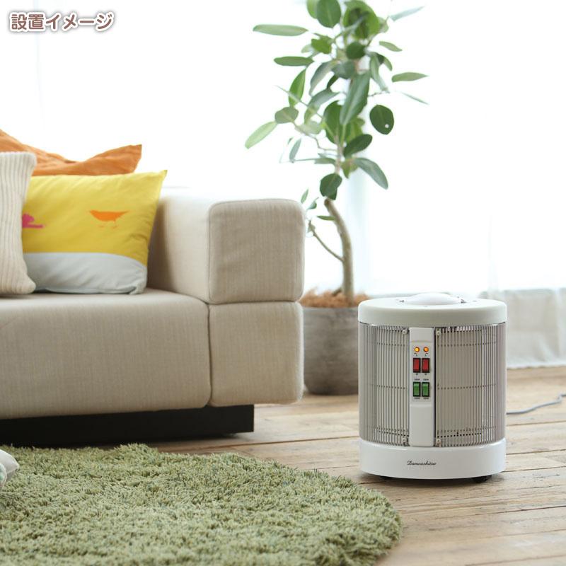 暖話室 1000型【ホワイト・植毛(当サイト限定モデル)】タイマーセット