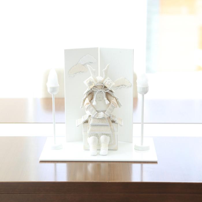 白粋-HAKI- 鎧飾り/凛 /五月人形 初節句