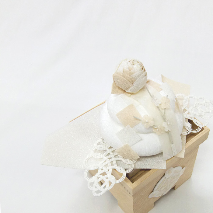 白粋-HAKI- 正月鏡餅飾り