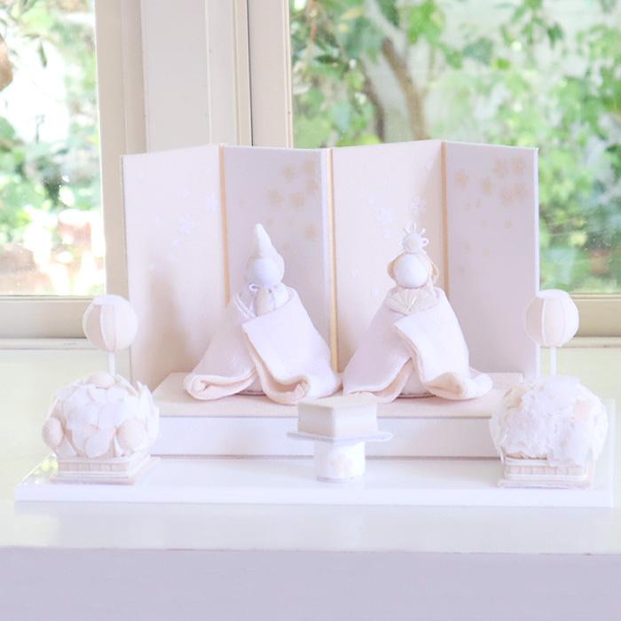 白粋-HAKI- 弥生セット(桜舞うお雛様、羽子板花雪)