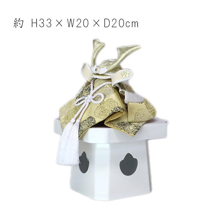 白粋-HAKI- プレミアム 西陣織泡玉兜飾り