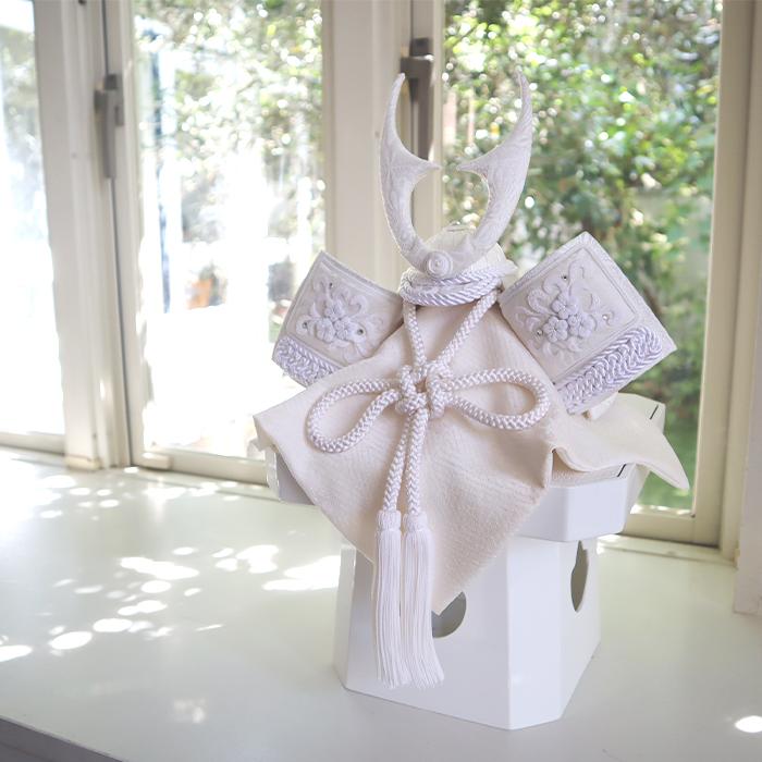 白粋-HAKI- プレミアム 西陣織貫前鍬形兜飾り