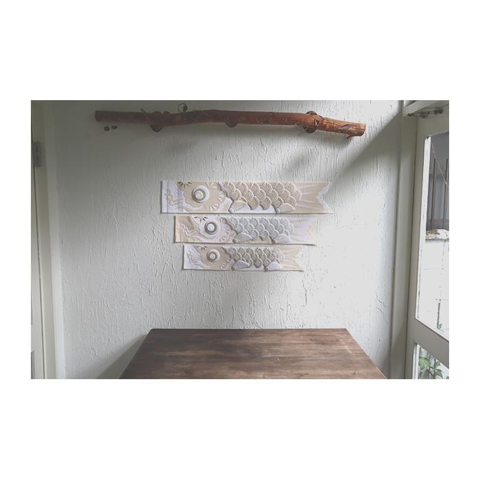 白粋-HAKI- ウォールデコレーション鯉のぼり [Mサイズ] /五月人形 初節句 こいのぼり