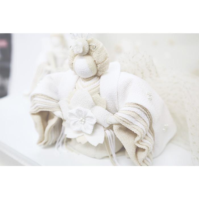 白粋-HAKI- インテリア茶箱雛飾り 華衣(はなごろも)
