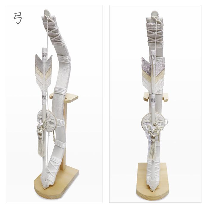 白粋-HAKI- 兜飾り 弓&太刀 /五月人形 初節句