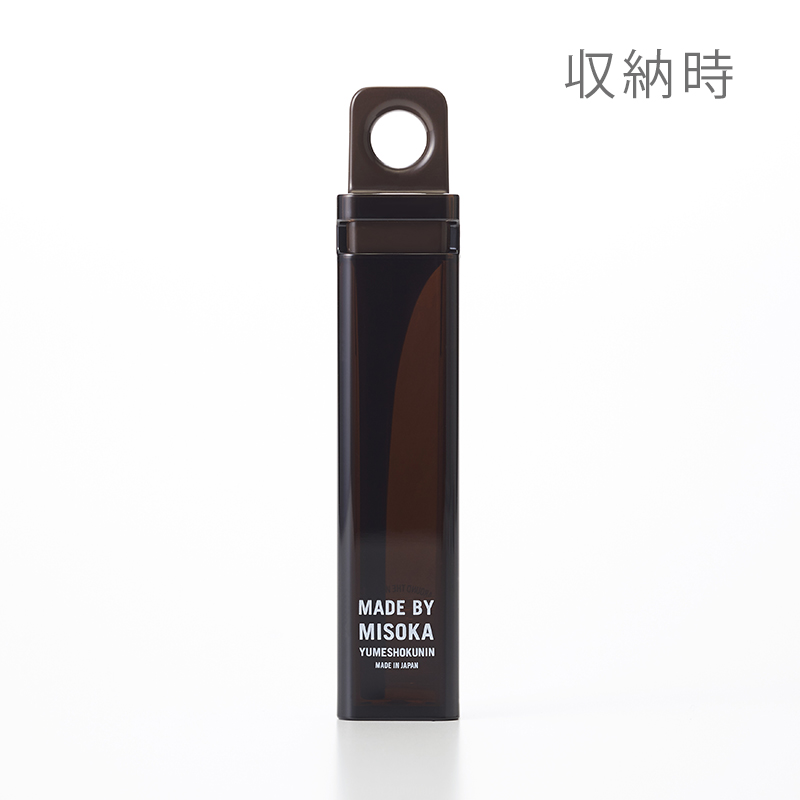TRAVEL TOOTHBRUSH MISOKA FOR TO&FRO (Brown)