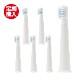 【お得な定期便・送料無料】MISOKA電動歯ブラシ 替ブラシ コンパクトサイズ ブルー(3ヶ月分)ポストへお届けパック