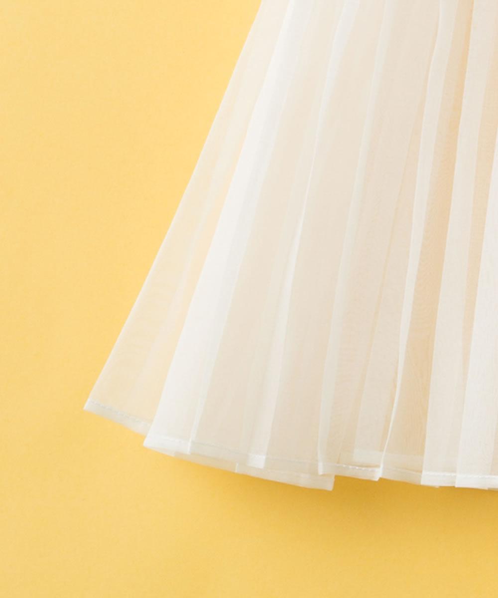 天然シルク100%プリーツベビードレス【お宮参りに最適】