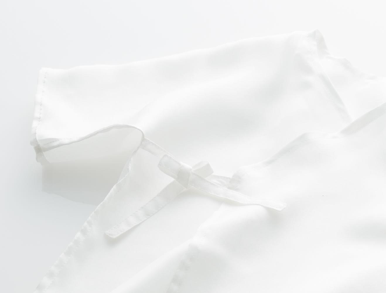 シルク天使の肌着(短)
